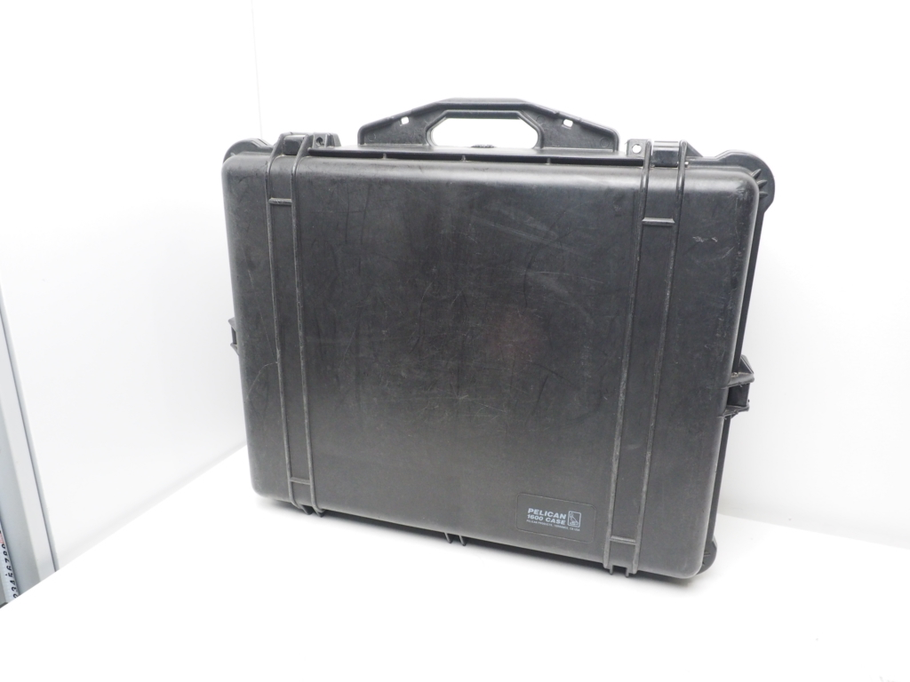 USED PELICAN 1600 CASE ペリカンケース ブラック サイズ 外:W61.9xH49.2xD22.3cm [W36198]