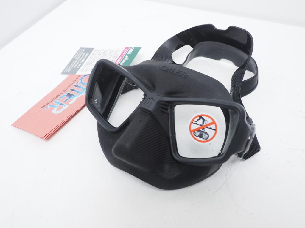 新品 OMER オマー ZERO3 Mask ブラックシリコン [N36537]