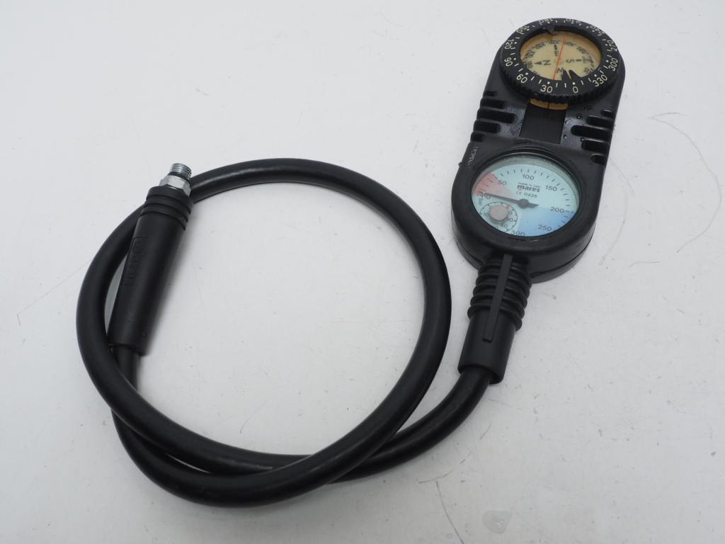 USED MARES マレス MISSION-2C (残圧計+コンパス) ミッション2C 2ゲージ 水温計付 [36735]