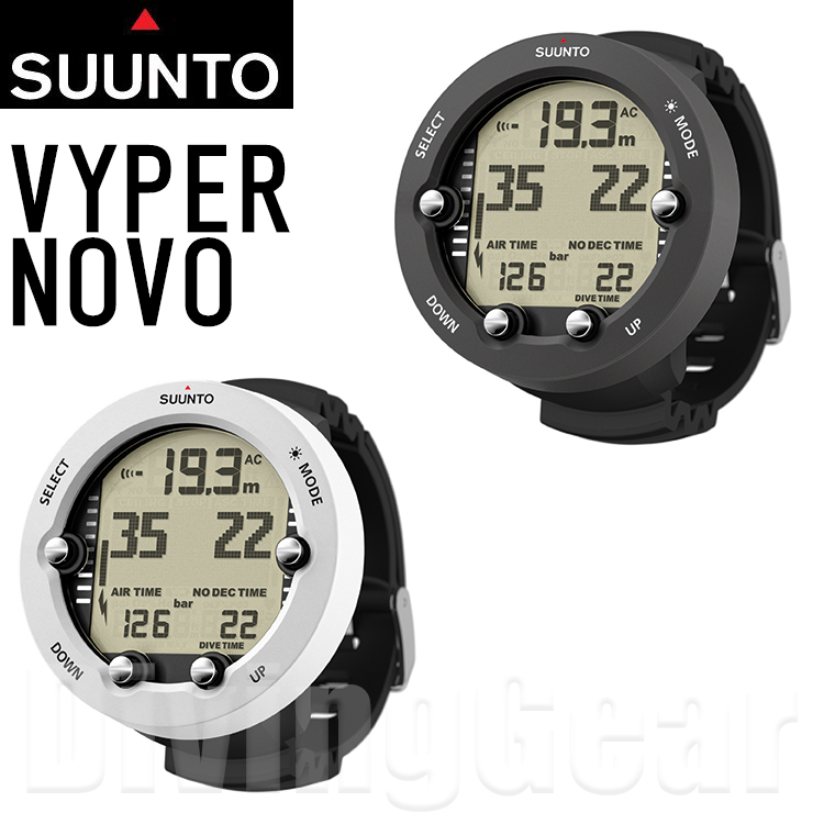 SUUNTO(スント) VYPER NOVO(ヴァイパーノボ) ダイブコンピューター