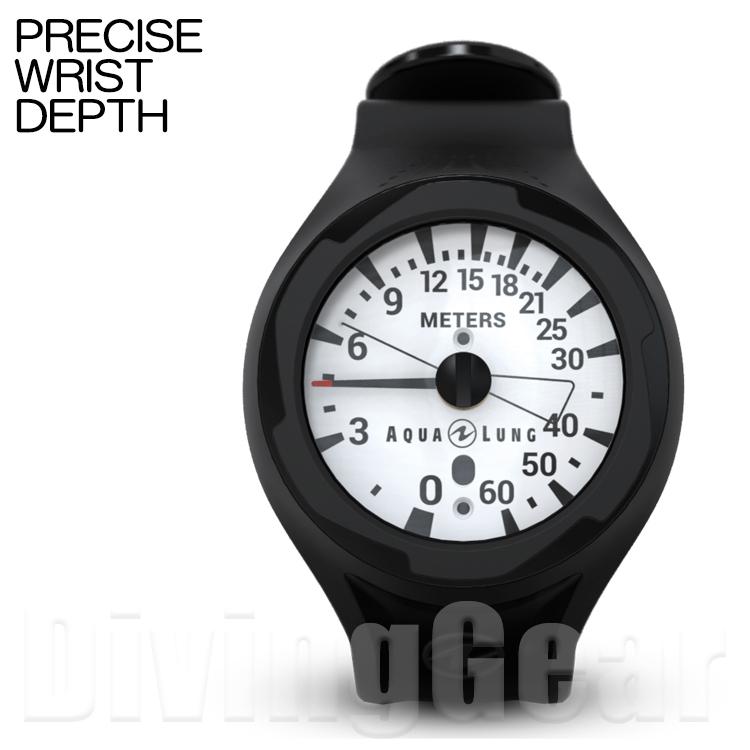 AQUA LUNG(アクアラング) PRECISE WRIST DEPTH GAUGE プレシスリストタイプデプスゲージ(水深計)