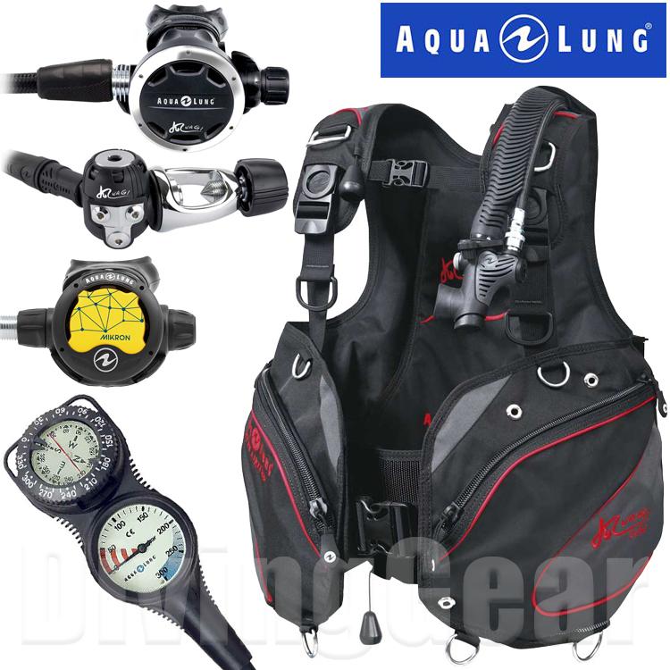 AQUA LUNG(アクアラング) NAGI ナギ ルーフス/ナギ レギュレーター重器材セット