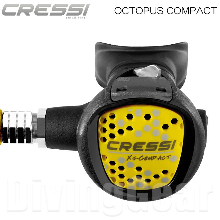 Cressi(クレッシー) Octopus Compact オクトパス コンパクト