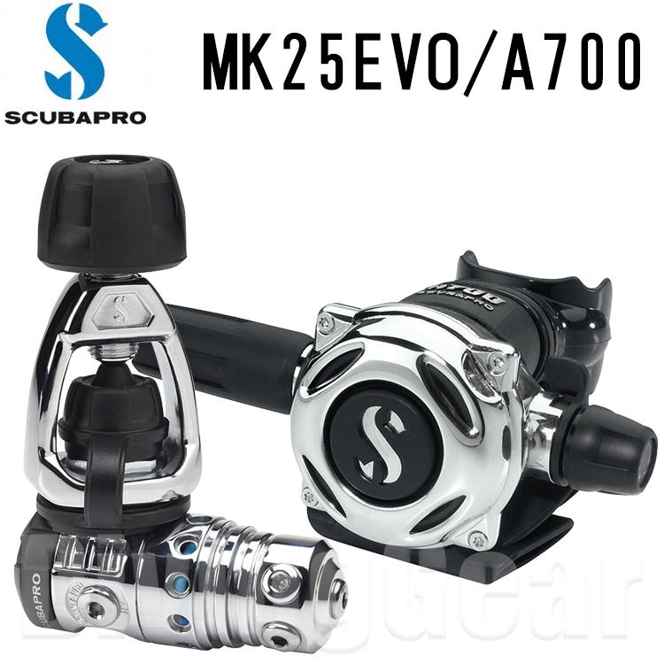 SCUBAPRO(スキューバプロ) 12-770-040 MK25EVO/A700 レギュレーター