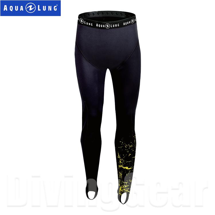 AQUA LUNG アクアラング セラミックスキン ロングパンツ 長ズボン メンズ 共用 男性用 ウエットスーツ トレンカ 人気ブランド多数対象 レギンス 高級な ドライスーツ インナーウェア