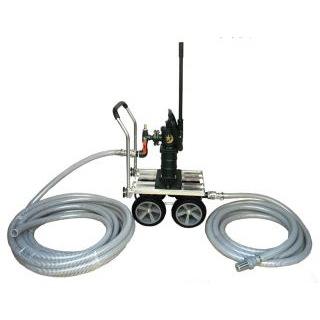 移動式 手押しポンプ 東邦工業製 月星昇進ポンプ マンホールトイレ用 公共向け (SY35SCF-IDO-MH1020)