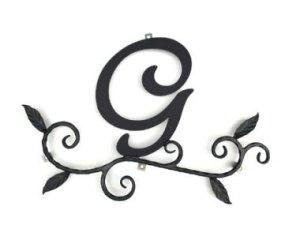 ロートアイアン 妻飾り [G] (WA-K0G)壁飾り 新居 装飾 モダン シンプル アイアン オーナメント ウォールアクセサリー エクステリア