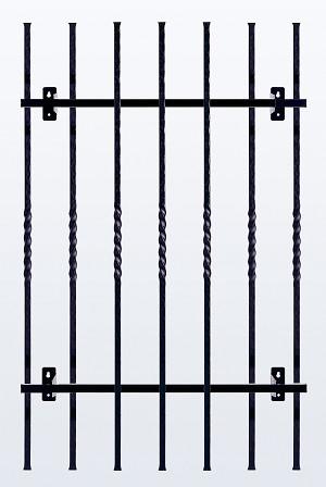 鋳物 窓格子・面格子 H1100 W680(MGF117206)