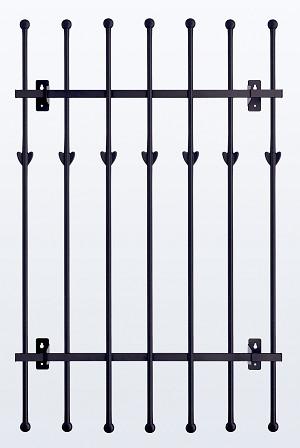 鋳物 窓格子・面格子 H1100 W1120(MGF117511)
