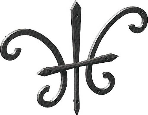 【送料無料】アルミ鋳物 妻飾り(オーナメント)【YKK】 壁飾り27型(BEP-27)