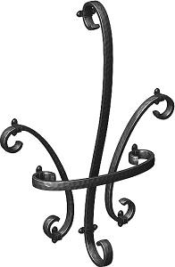 アルミ鋳物 妻飾り(オーナメント)【YKK】 壁飾りER17型(TEP-ER-17)