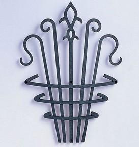 【送料無料】アルミ鋳物 妻飾り(オーナメント) コーベルタイプ【ニチハ】(FFA5288 ブラック)