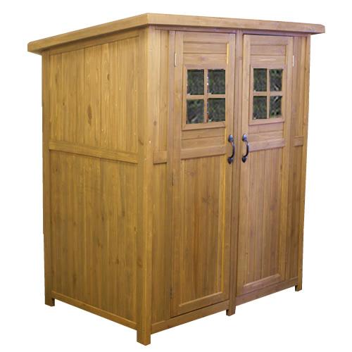 収納庫 物置 木製 大型 ライトブラウン カントリー小屋 大 DNS-0177LBR ※北海道+10000円