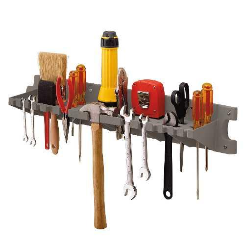<title>与え 最大72個のツールを収納可能なツールハンガーです 壁にネジで固定して利用して下さい ネジは付属しません ガーデン 収納 ツールハンガー V772P TOSHO サンキャスト ※北海道 九州 500円</title>