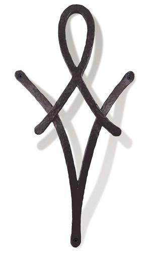【送料無料】アルミ鋳物 妻飾り(オーナメント)・壁飾り (IT3508)