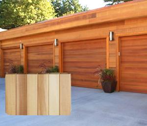 レッドシダー 木製外壁材 サイディング ・本実サイディング 約17×76mm×乱尺(6kg)【クリア】【平米単位での販売】TG-1776