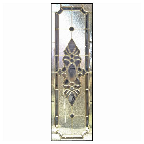 ステンドグラス (SH-B02) 一部鏡面ガラス 1625×480×20mm デザイン アンティーク ピュアグラス Bサイズ (約24kg) ※代引不可