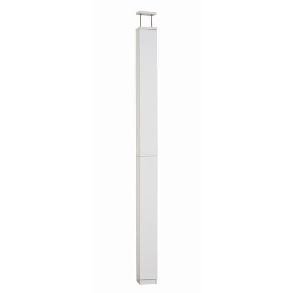 トイレ 収納 トイレタワーラック つっぱり式 (24650) クロシオ ホワイト 白 ※北海道・沖縄・離島送料別途見積 在庫僅少
