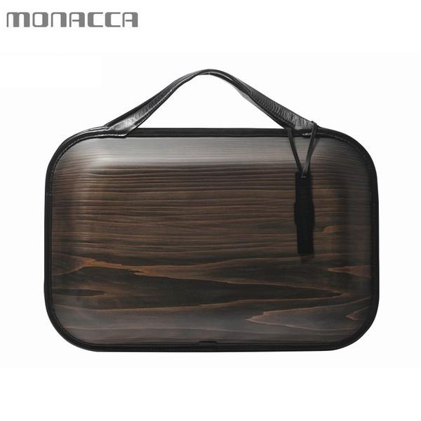 木のバッグ モナッカ monacca Roots Carbon (ブラック) 木製 カバン 日本製 ※北海道・沖縄・離島+1030円