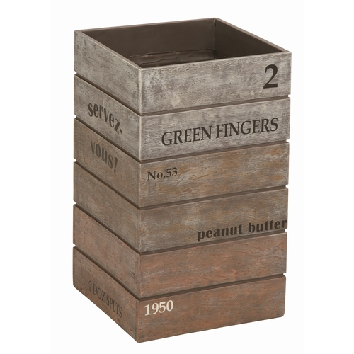 【送料無料】傘立て アンティーク ボックス ブラウン (SR-0821-BR-1200) おしゃれ Antique Box ※北海道・沖縄・離島送料別途見積