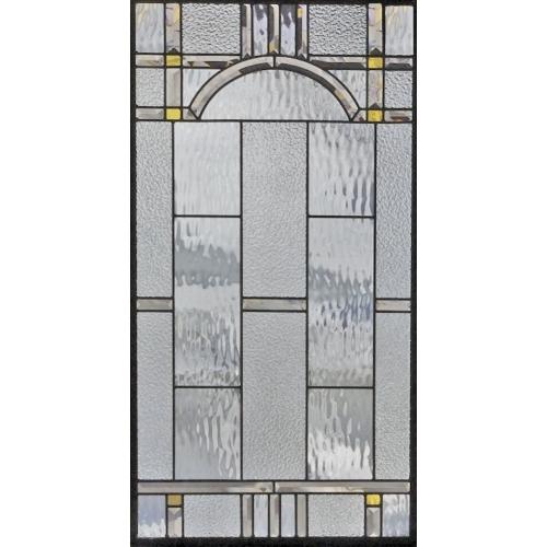 【送料無料】ステンドグラス (SH-A30) 913×480×18mm デザイン ピュアグラス 幾何学 Aサイズ (約13kg) メーカー在庫限り ※代引不可