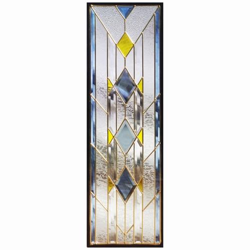 ステンドグラス (SH-C08N) 一部鏡面ガラス 927×289×18mm Cサイズ (約8kg) ※代引不可 メーカー在庫限り