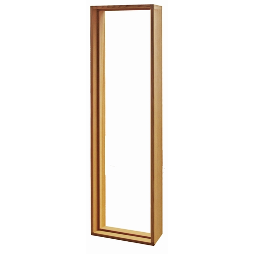 ステンドグラス専用木枠 SH-B用 (室内用) タモ集成材 SHF-ZB1 ※代引不可