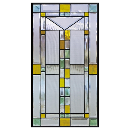 【送料無料】ステンドグラス (SH-A10) 913×480×18mm デザイン ピュアグラス Aサイズ メーカー在庫限り ※代引不可