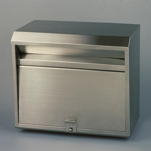 【送料無料】5月下旬入荷予定 郵便ポスト ステンレスポスト PH-80 大型 メールボックス