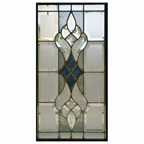 【送料無料】ステンドグラス (SH-K02) 一部鏡面ガラス 500×260×18mm ピュアグラス Kサイズ (約4kg) 【メーカー在庫限り】 ※代引不可