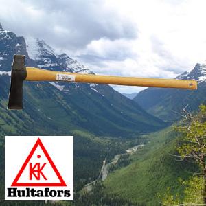 【送料無料】薪割り斧【フルターフォッシュ】強度を誇るスウェーデン製 〔スレッジ〕(全長80cm) 最大の薪割りで威力を発揮!【ハルタフォース】