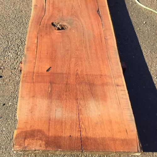 【倉庫引取限定】チーク 一枚板 80×740×2330mm 無垢 一枚板 天板