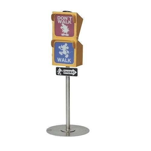 ソーラーライト 『信号 ヴィンテージミッキー』 (SD-6145-2200)