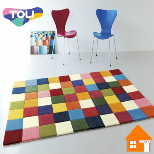 東リ Rug ラグ & マット Pop & ColorfulTOR3846140cm× 200cm