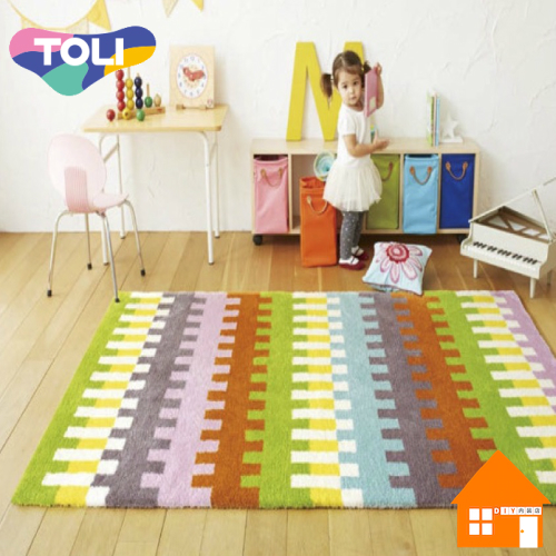 東リ Rug ラグ & マット Pop & ColorfulTOR3854130cm× 190cm