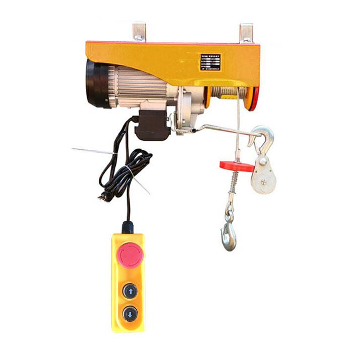 単品電動ウインチ最大1000kg 100V ホイスト 吊り上げ 吊り下げ クレーン ウインチ 電動ホイスト 家庭用ホイスト