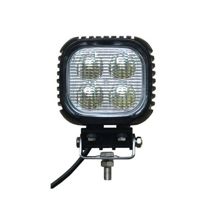 2個 LED 作業灯 ワークライト船舶 サーチライトフォグランプ トラック 路肩 灯 イカ釣り ライトバー CREE製40W 作業灯 広角60度 304ステンレスブラケット ノイズ対策