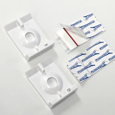 テンションバーやテンションタイプに取り付け可能 取付補助プレート受けセット 訳あり商品 倉庫 立川機工 プレート受けセット プレート2枚 両面シール2枚 PRM:
