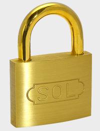 商い SOL 2500番南京錠 同一キー仕様 15ミリの市場通販ショップです 15mm 1個価格 15ミリ キーナンバー:213 ソール 新作からSALEアイテム等お得な商品満載 同一鍵