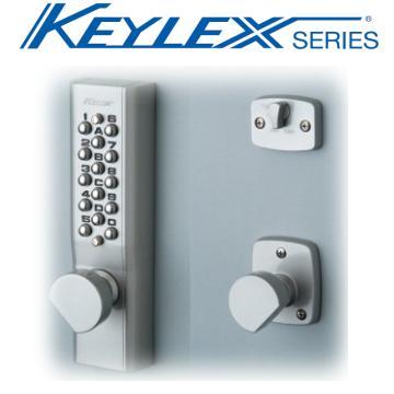 長沢製作所【キーレックス1100】【22603】ノブ自動施錠鍵無しタイプ