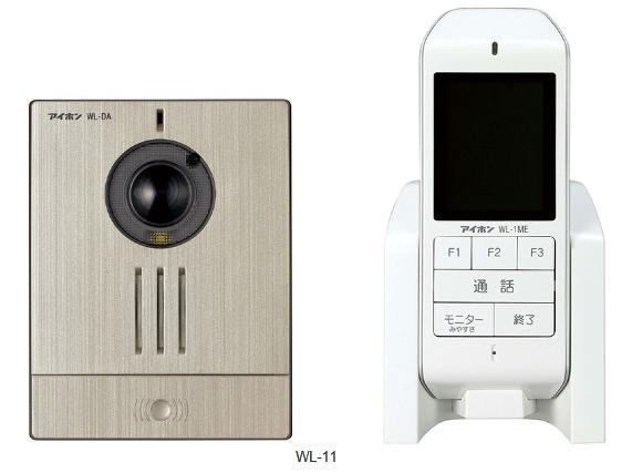 アイホン ワイヤレステレビドアホン WL-11
