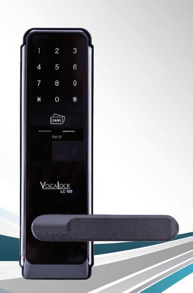 ロックマンジャパン デジタルドアロック LC-105