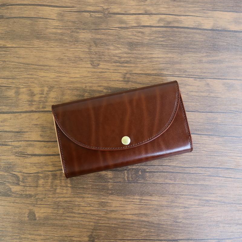 diyplus カードたくさん入る長財布レディース、メンズ 19秋冬 革の宝石 ルガトー 本革 カード大容量収納モデル ブラウン マチ4.5cm×横18.5cm×高さ10.5cm 400brnor