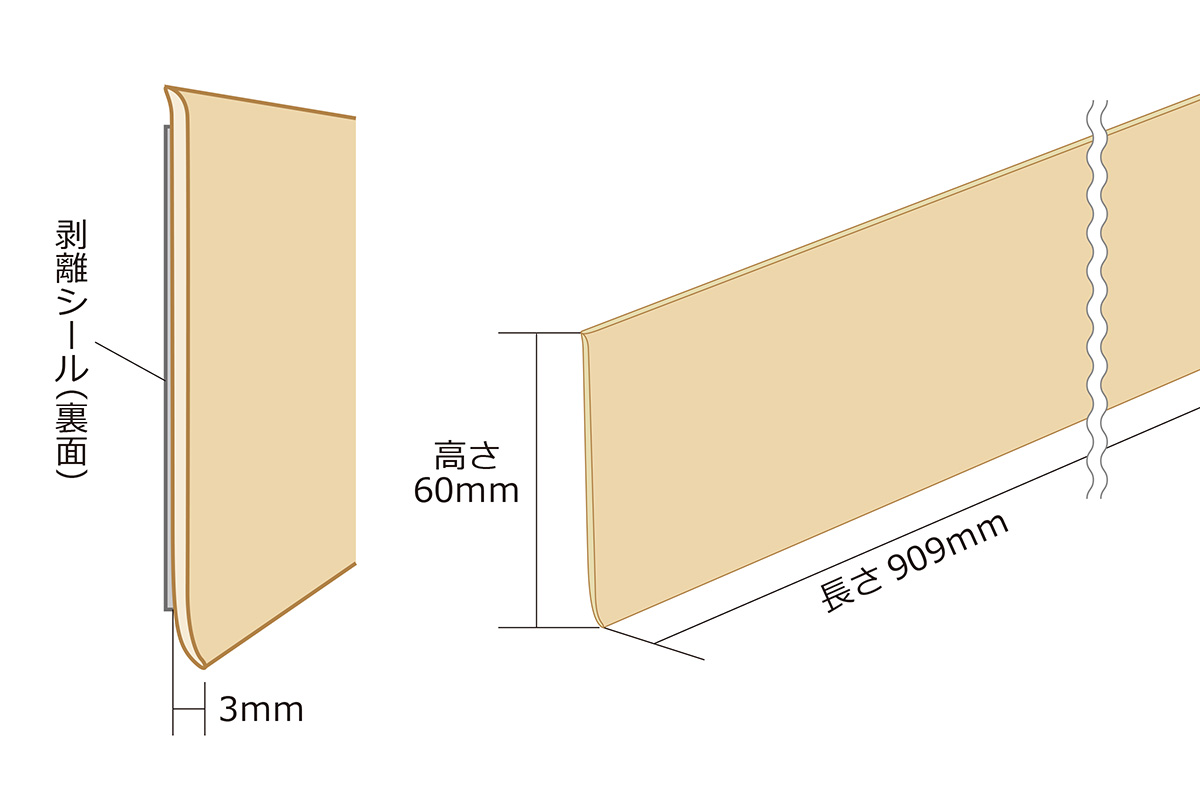 Diystyle Rakuten Global Market Just Put A Simple Baseboard