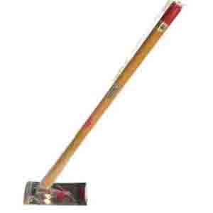 姫鍬 ステンレス柏崎・刈羽型こしひかり鍬 5寸幅 3.5尺(約105cm)柄付  くわ 園芸 農業 家庭菜園