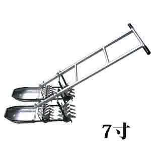 アルミ除草機 2条押 7寸 AL-70