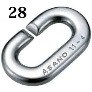 ASANO 強力Cカン ステンレス 28