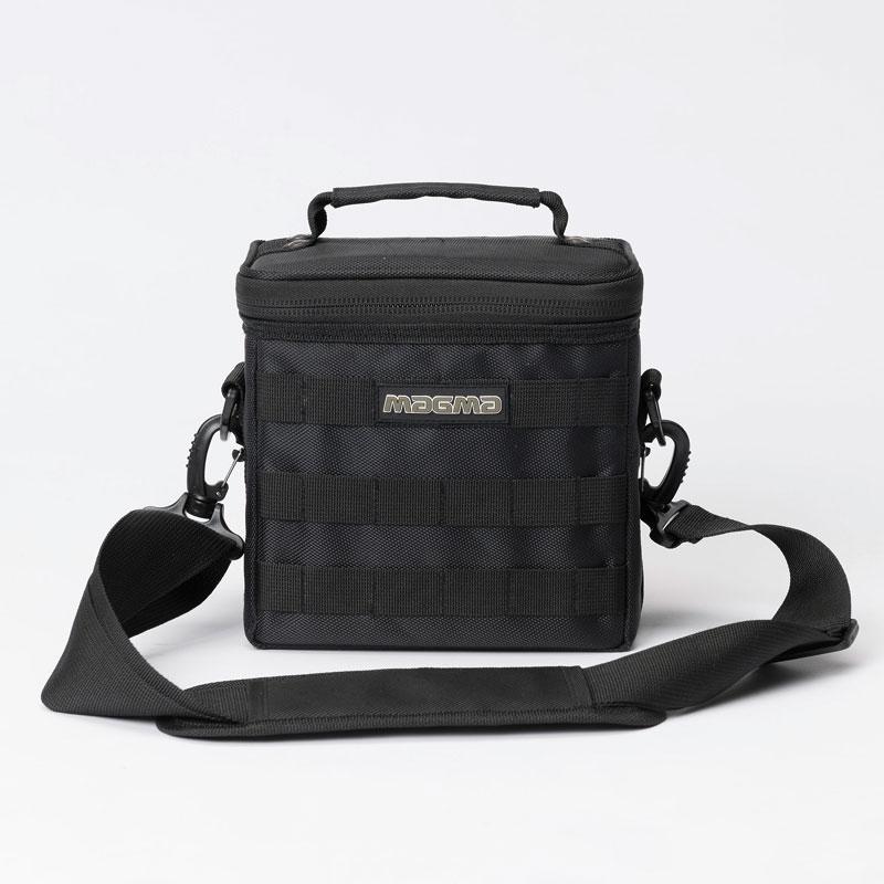 7インチサイズのレコードを最大約50枚収納可能なレコードバッグ MAGMA 45 Record-Bag Black セール 登場から人気沸騰 50 入手困難 7インチレコード用バッグ