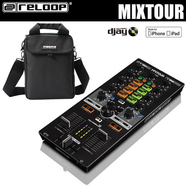 reloop MIXTOUR + MAGMA RIOT DJ BAG PRO SET