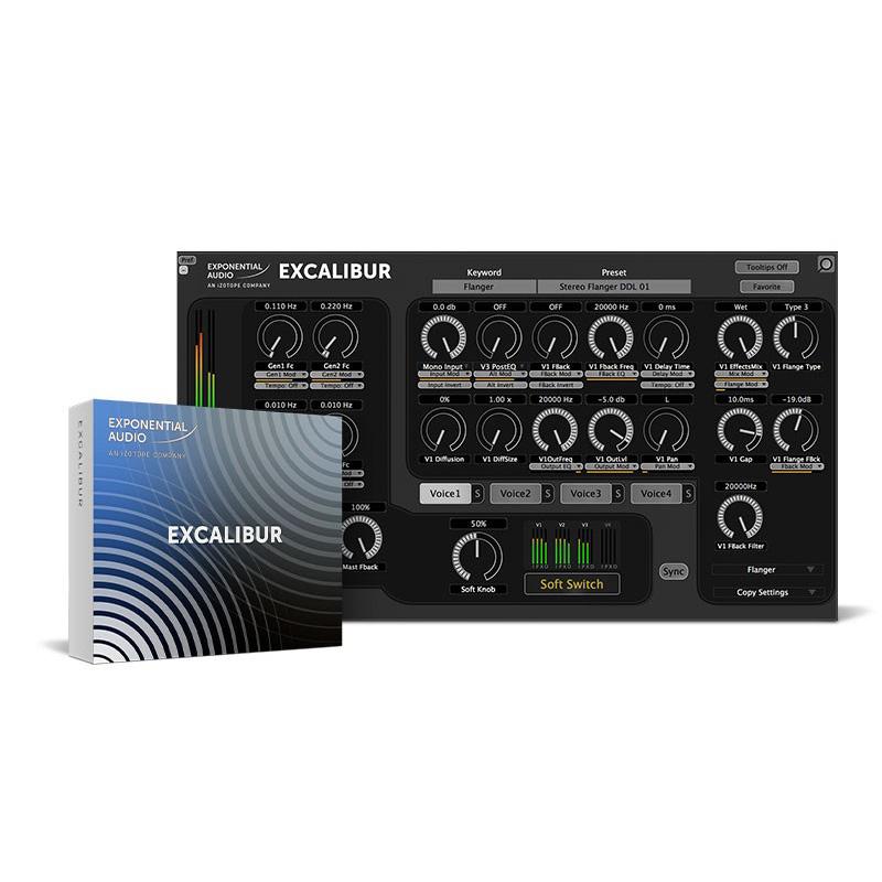 iZotope Exponential Audio: Excalibur【オンライン納品専用】※代金引換はご利用頂けません